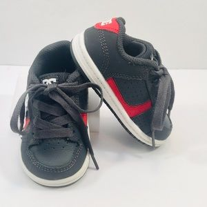 DC Toddler Leather Sneakers